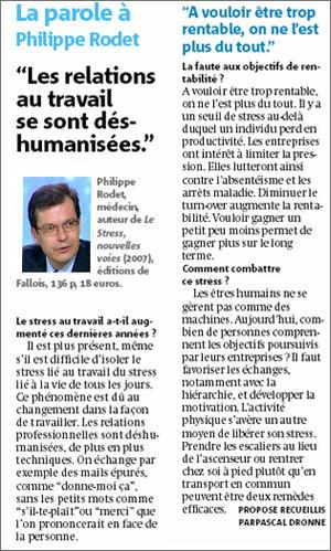 Article Métro