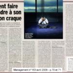 Philippe Rodet aborde le burn-out dans Management d'avril 2009