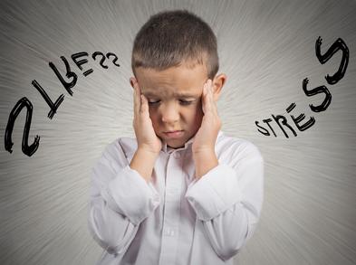 Le stress chez l'enfant augmente le risque de maladies