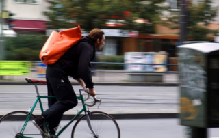 Pédaler en ville serait bon pour la santé