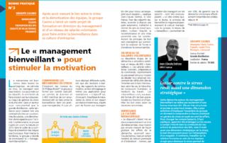 Liaisons sociales : « management bienveillant et motivation »