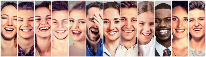 Le sourire a un rôle important sur le stress de votre entourage