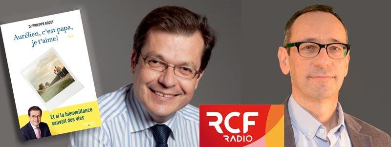 Le Docteur Philippe Rodet interviewé sur RCF pour la sortie de son nouveau roman