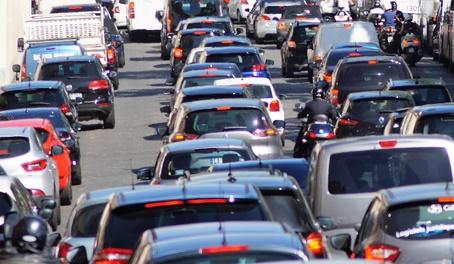 Les embouteillages sont une source de stress évitable
