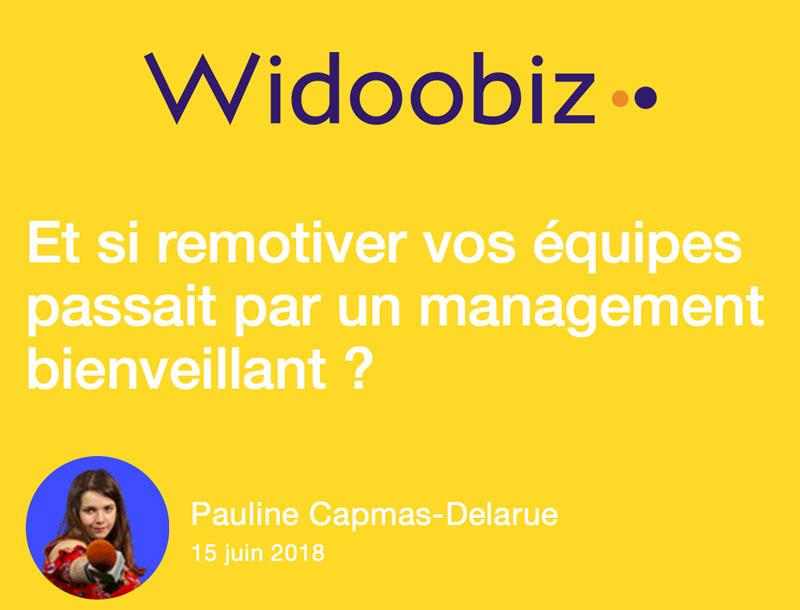 Widoobiz rencontre le Dr Philippe Rodet pour aborder le management bienveillant et lutter contre les salariés désengagés