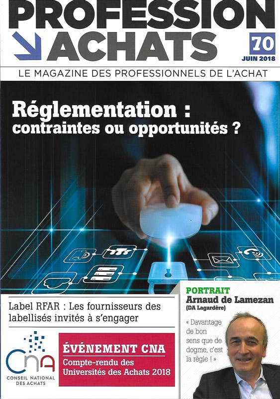 Interview du Dr Philippe Rodet pour le magazine Profession Achats avec la sélection de son ouvrage Le Management Bienveillant