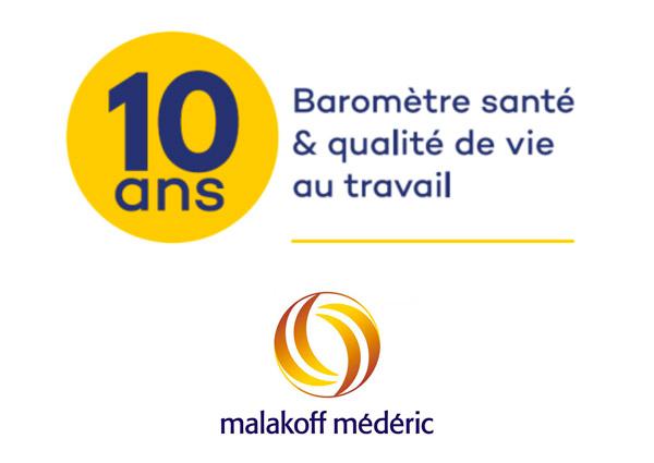 Malakoff Médéric publie son baromètre 2018 sur la santé au travail