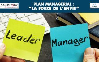 La force de l'envie de le contexte managerial pour améliorer nos performances