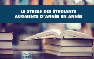 Le stress étudiant augmente, il y a urgence d'agir