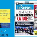 «La bienveillance au travail» abordée dans «Le Parisien»
