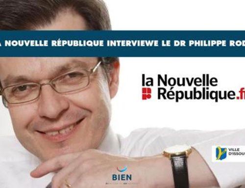 La Nouvelle République publie une interview du Dr Philippe Rodet