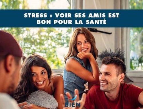 Stress : voir ses amis est bon pour la santé