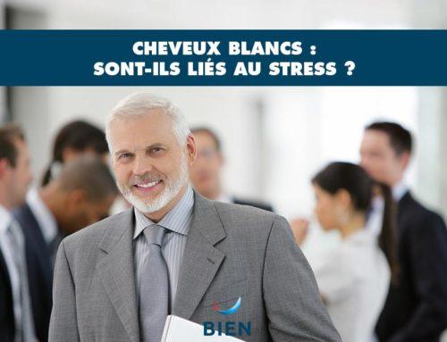 Cheveux blancs : sont-ils liés au stress ?