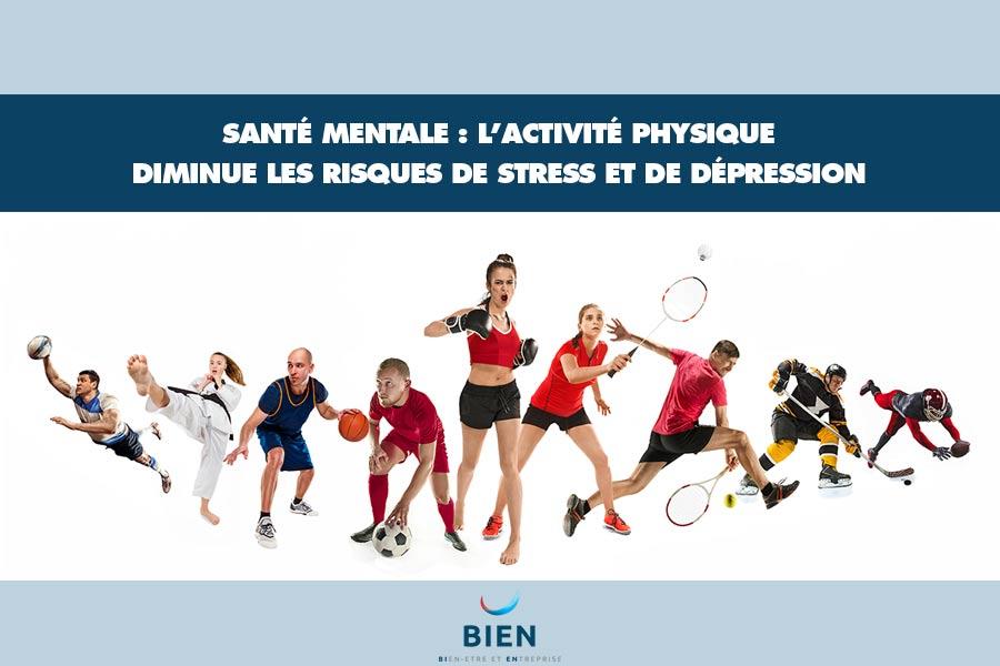 Activité physique - stress