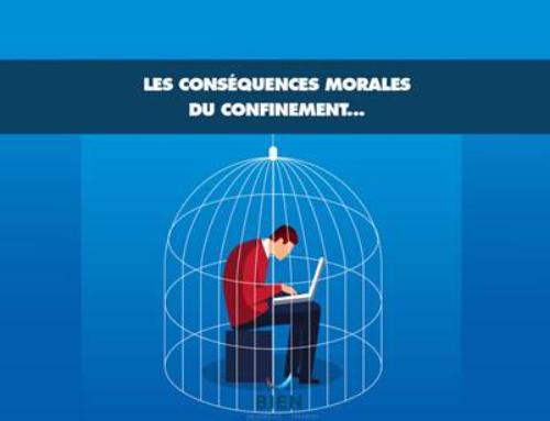 Les conséquences morales du confinement…