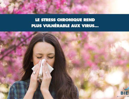 Le stress chronique rend plus vulnérable aux virus…
