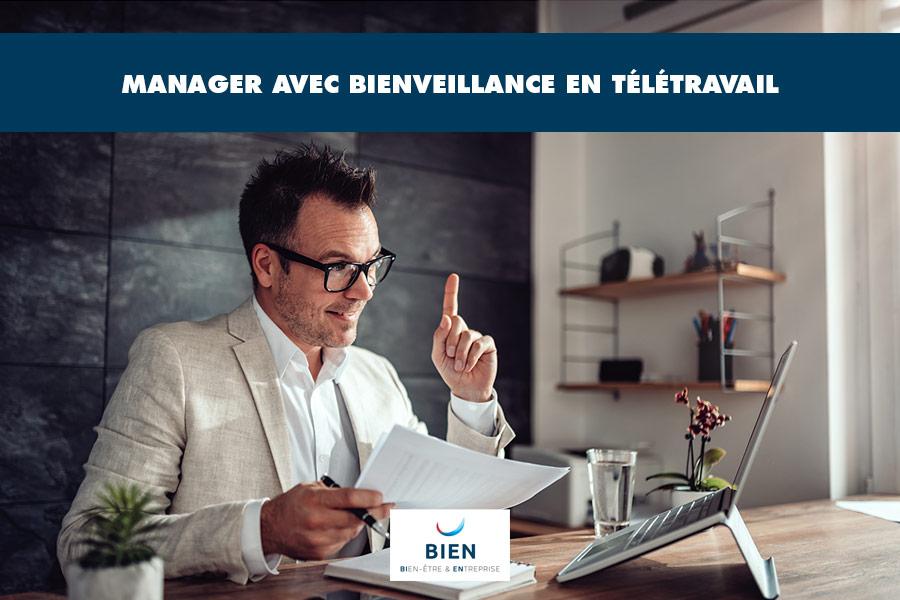 Management bienveillant et télétravail